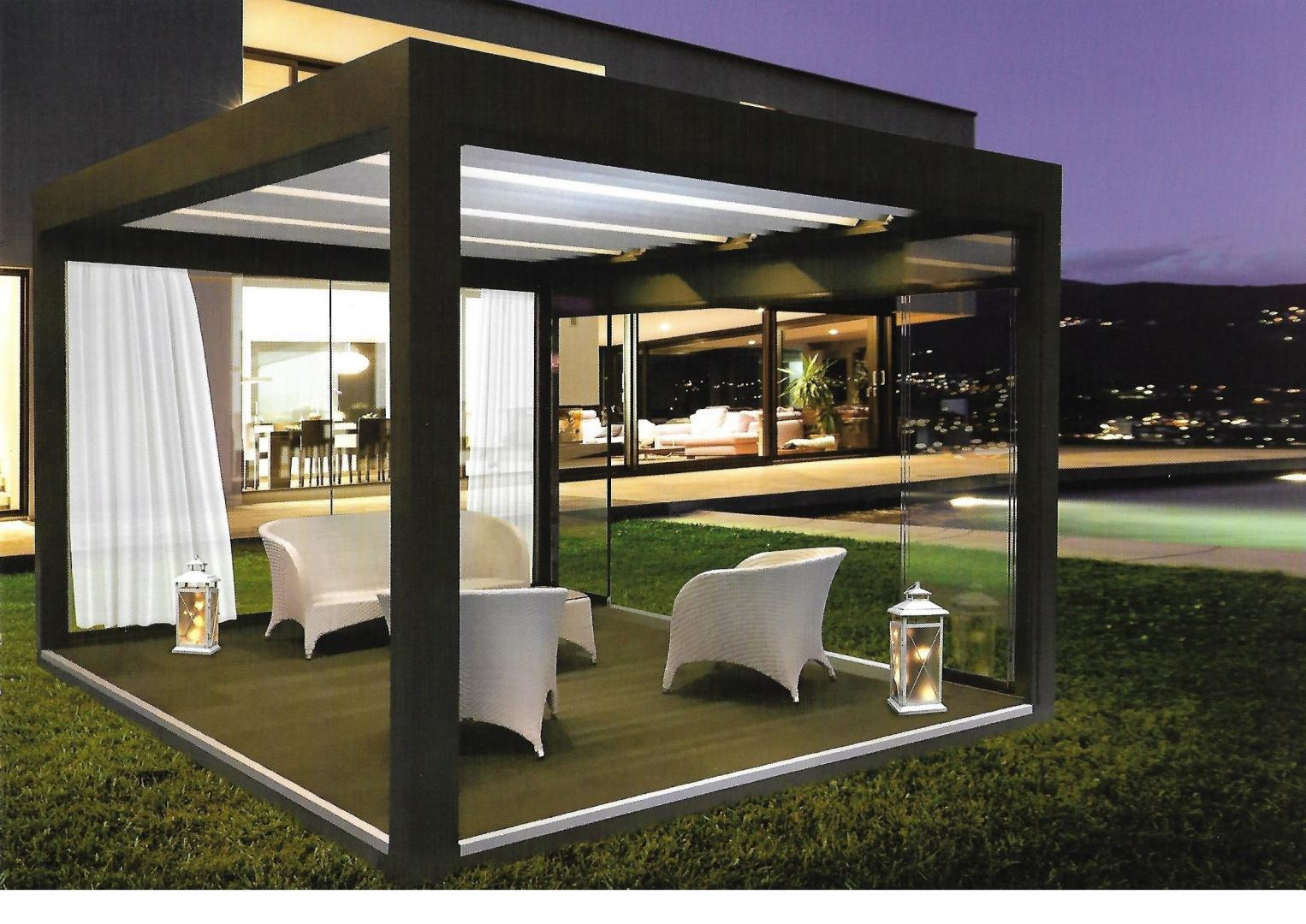 Veranda styl 39 installateur pergola bioclimatique for Pergola bioclimatique retractable